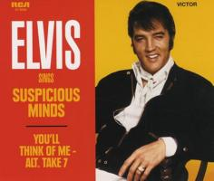 Elvis Sings Suspicious Mind and You'll Think Of Me
