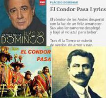 Plácido Domingo El condor pasa